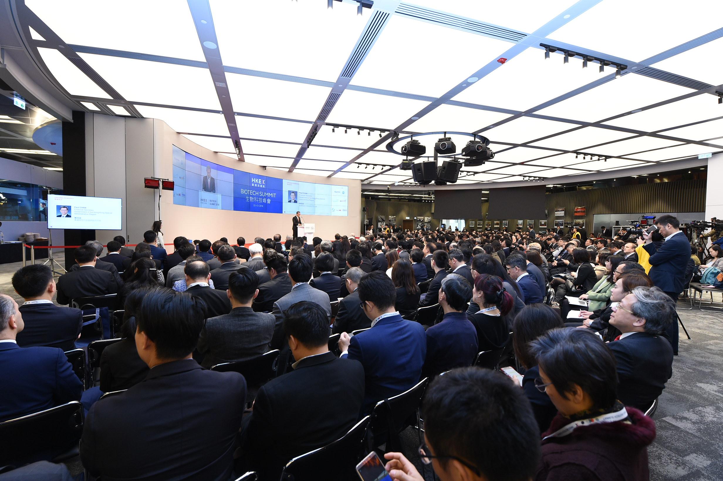 HKEX Biotech Summit 2018