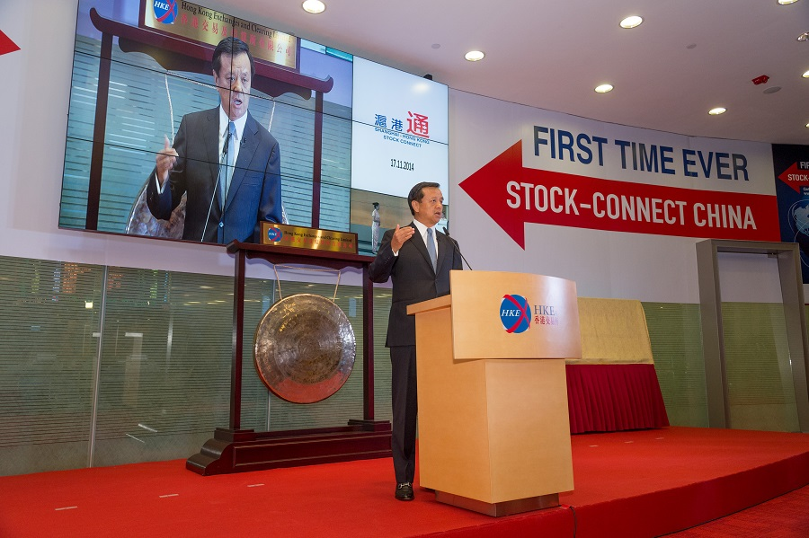 HKEX Chief Executive Charles Li says Shanghai-Hong Kong Stock Connect is a significant breakthrough in the opening of China's capital markets for both domestic and international investors as well as a landmark in the internationalisation of the RMB. Its launch further consolidates HKEX as a global exchange leader in Asia.