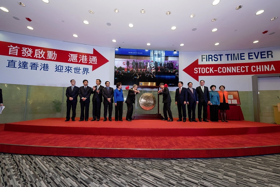 Shanghai-Hong Kong Stock Connect is officially launched on 17 November 2014.